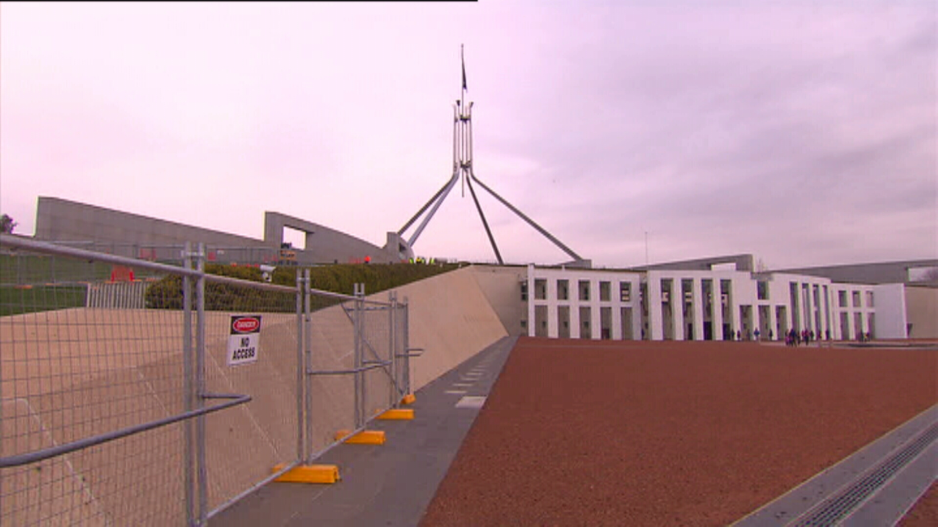 Parliament House renovations: Steelvision holding up