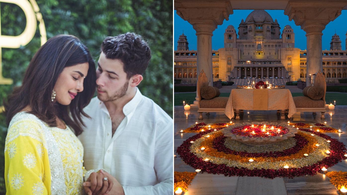 Priyanka Chopra Wedding.Priyanka Chopra And Nick Jonas Wedding Venue Is A Dreamy Indian