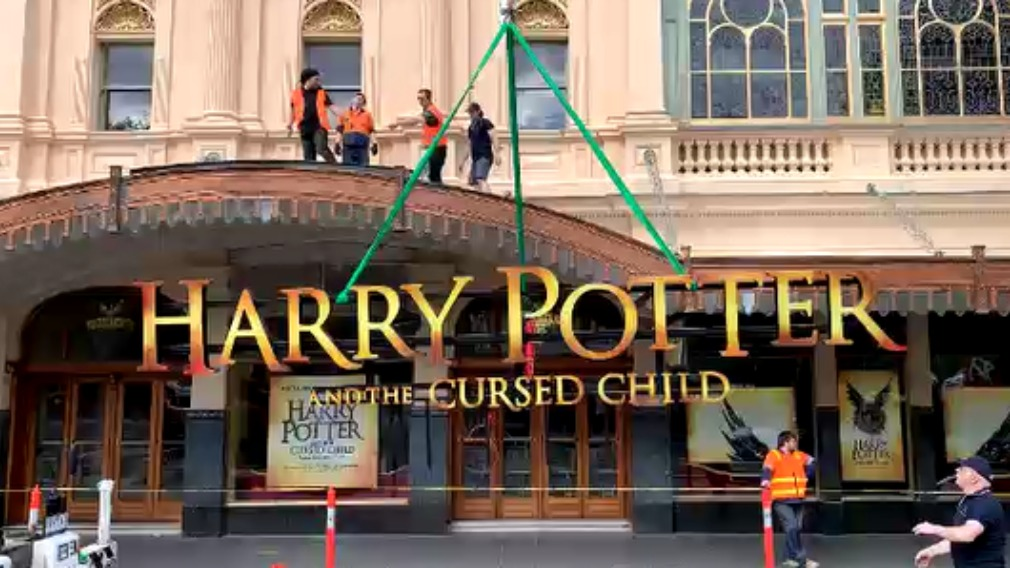Harry Potter and the Cursed Child Melbourne magical makeover