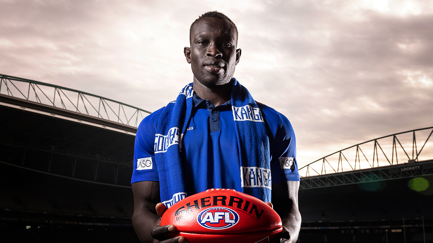 Daw, 27, and his family emigrated to Australia in 2003 from Sudan and he made his debut against Brisbane in 2013.