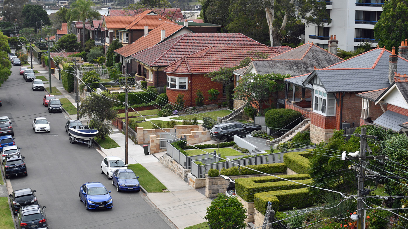 Brisbane fell 1.1 per cent over the last quarter to record a median property value of $489,832.