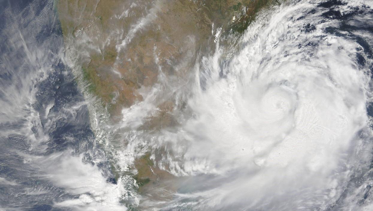 Cyclone Fani India by Nasa