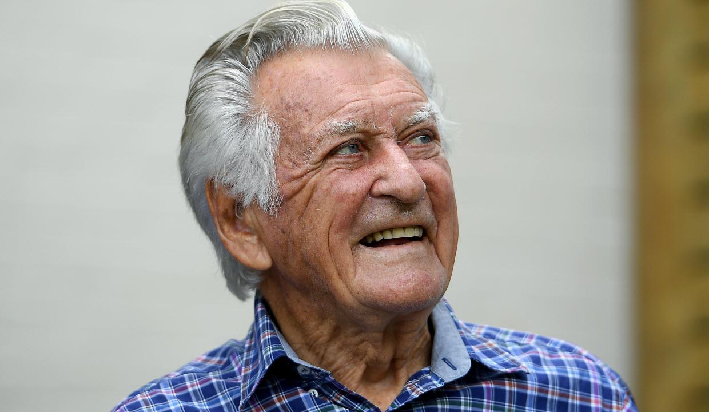 Bob Hawke former prime minister Australia