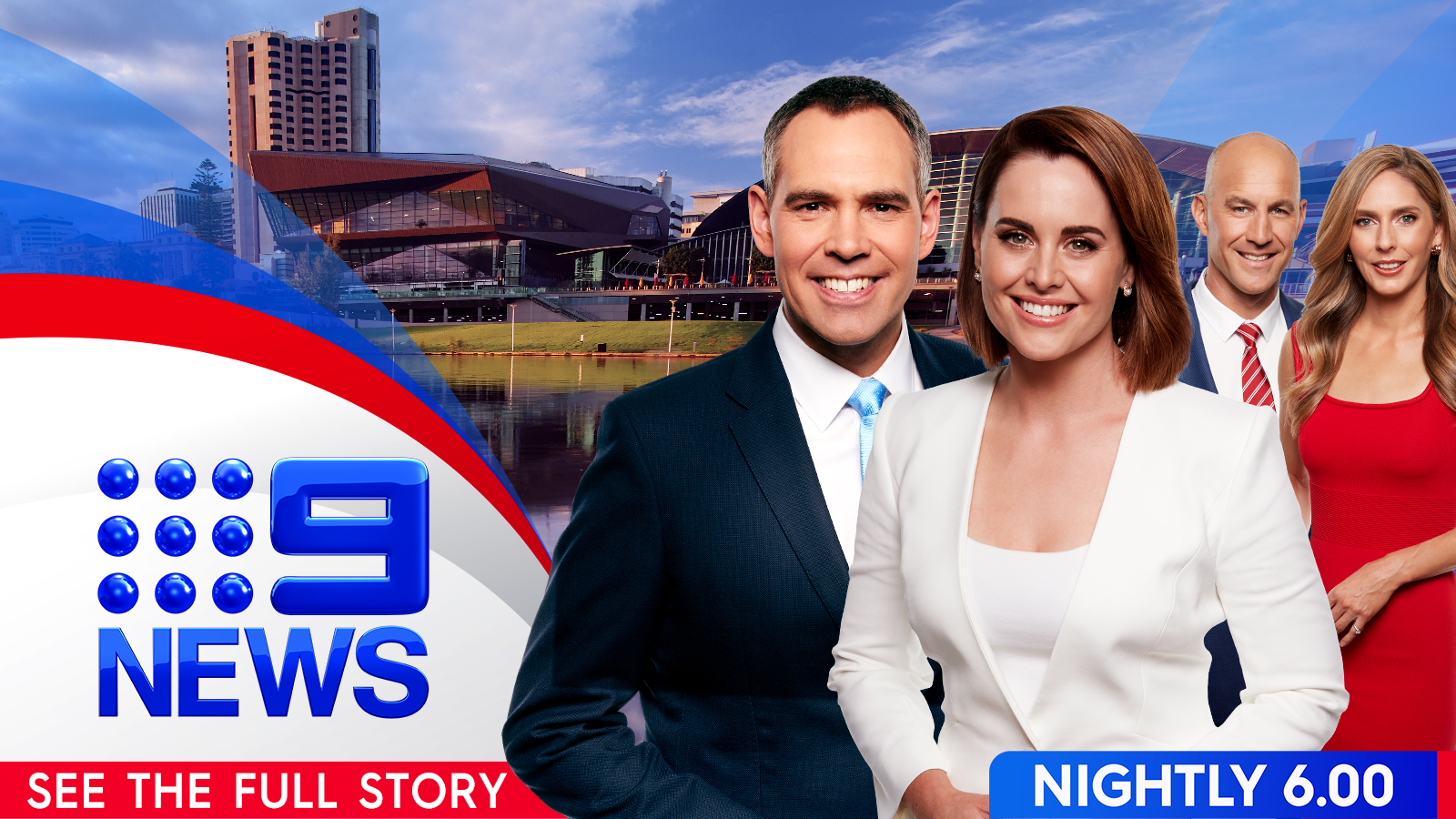 Adelaide 9 news meet the team