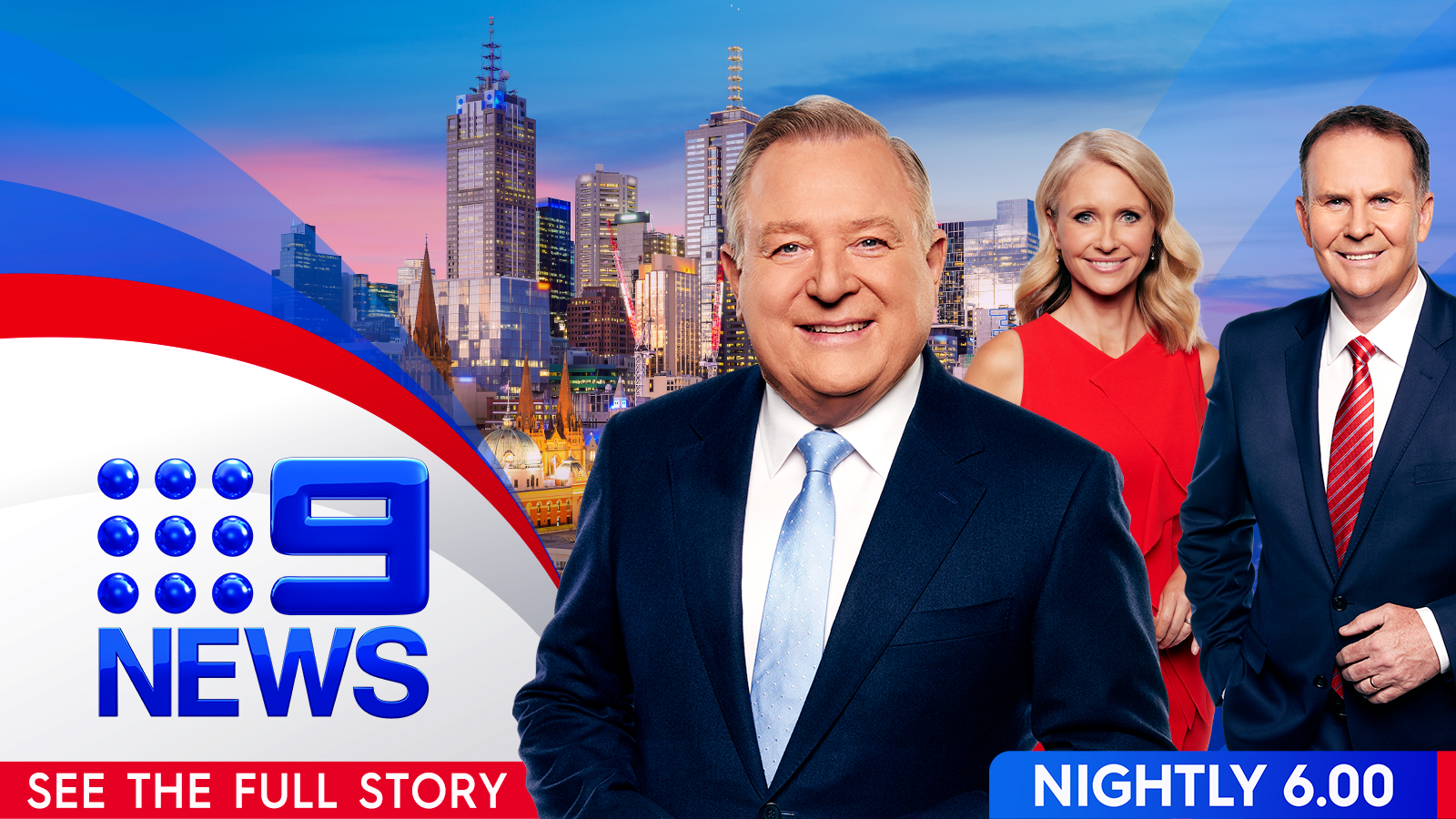 Melbourne 9 news meet the team