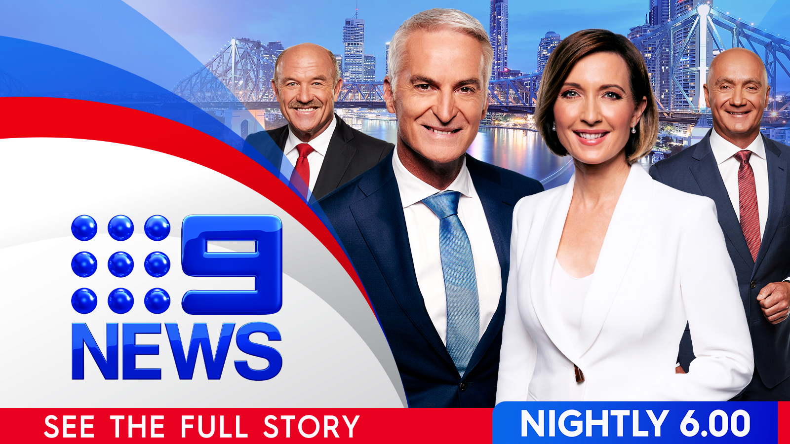 Brisbane 9 news meet the team