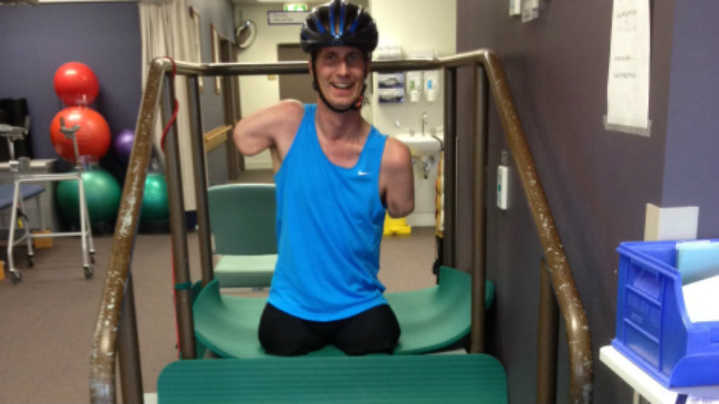 Quadruple amputee to take part in 5km charity race