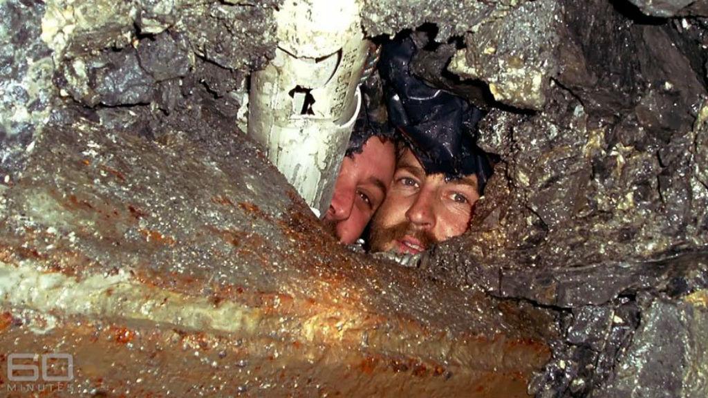 Tasmanian mining duo mateship still rocky - 9News