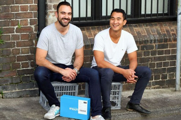 Shippit co-founders Rob Hango-Zada and Will On (Shippit)