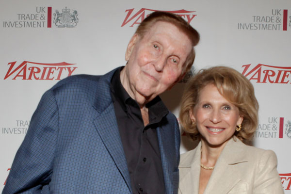 Sumner Redstone and his daughter Shari Redstone (Getty Images)