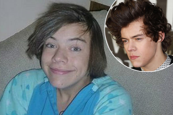 harry styles new hair style before he was harry styles with straightened hair 4883