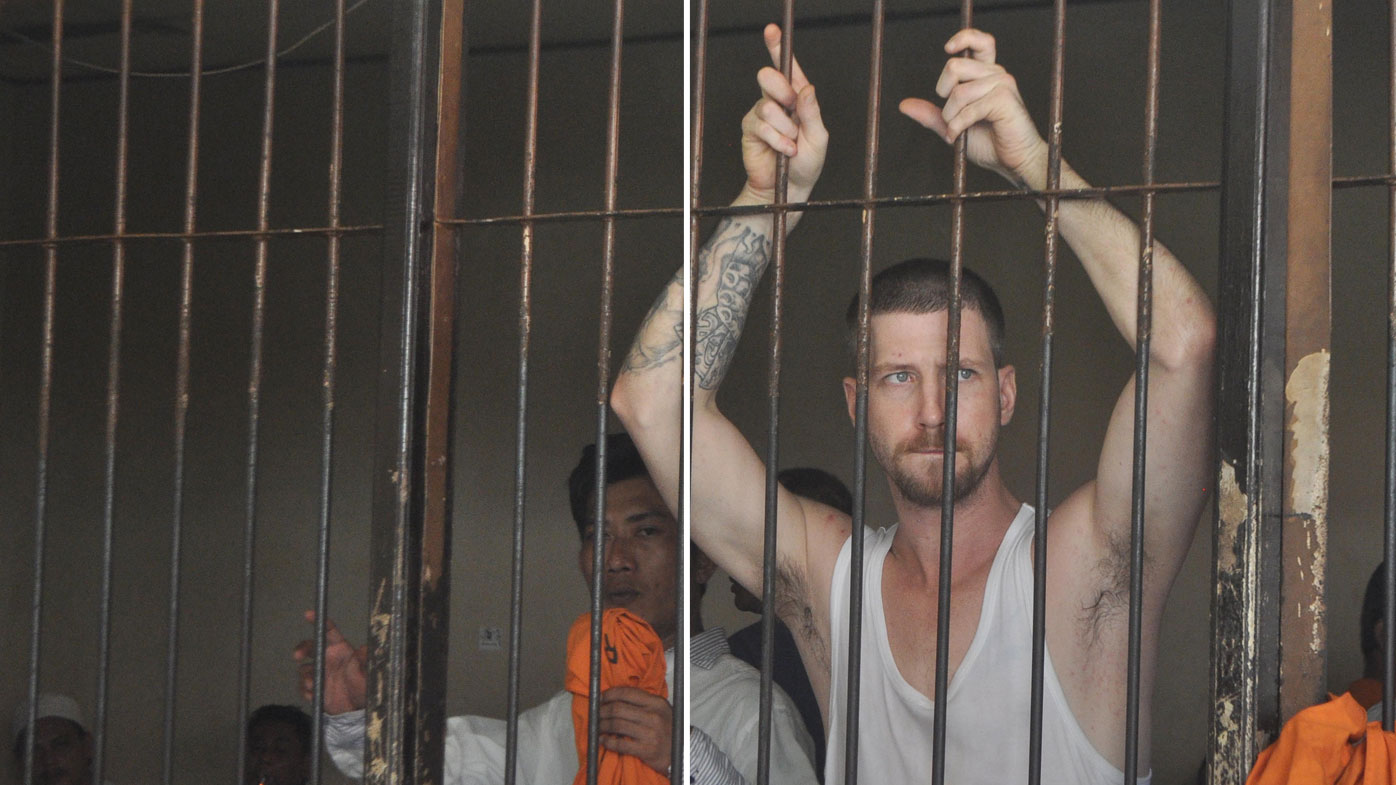 Davidson escaped from a Bali prison with only two months left on his sentence. (Supplied)