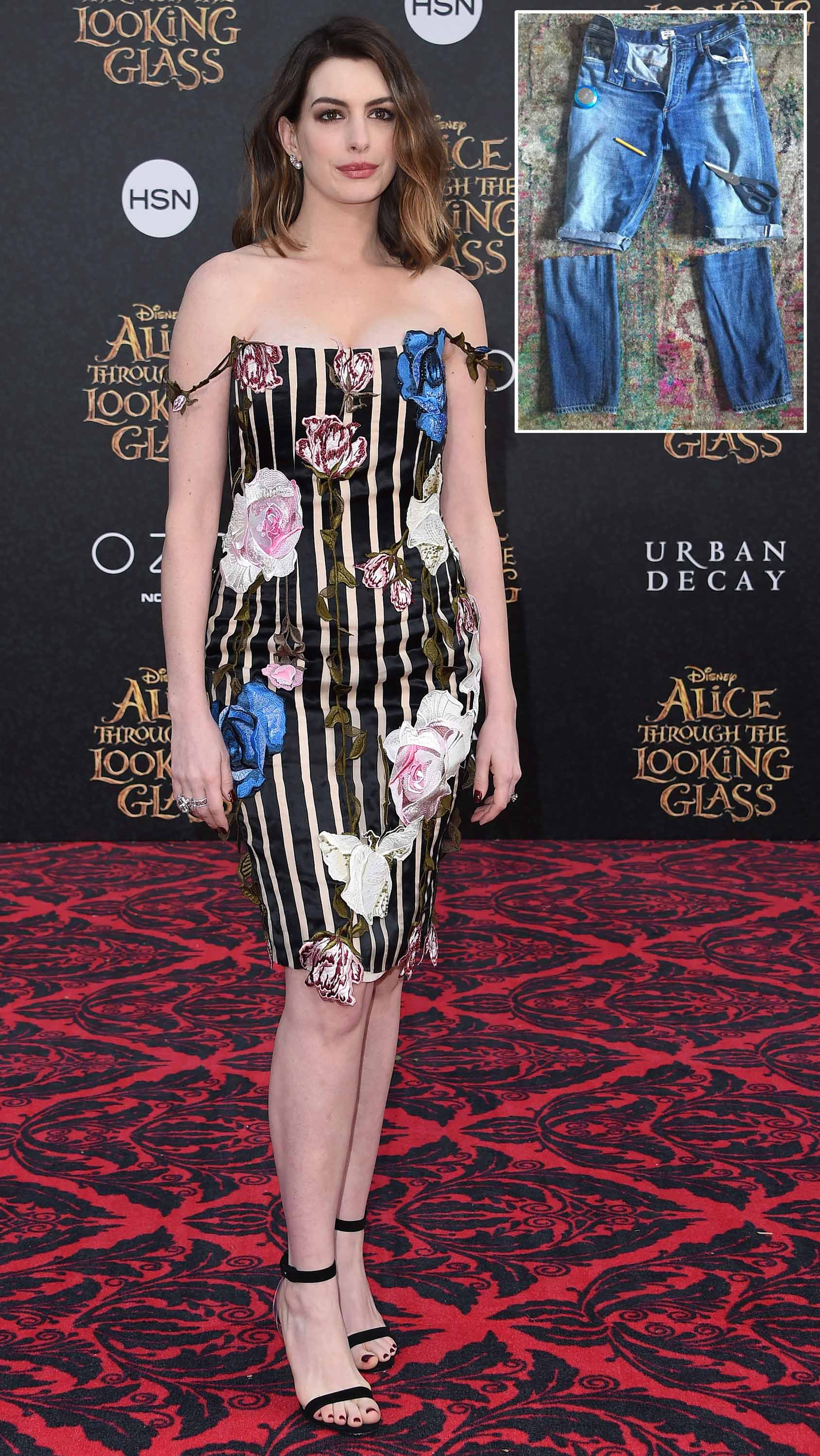 It Has Given to Anne Hathaway for The Shorts