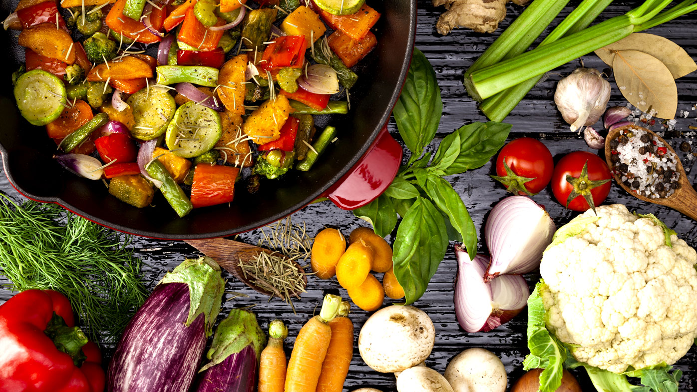 Pregnant and Vegetarian