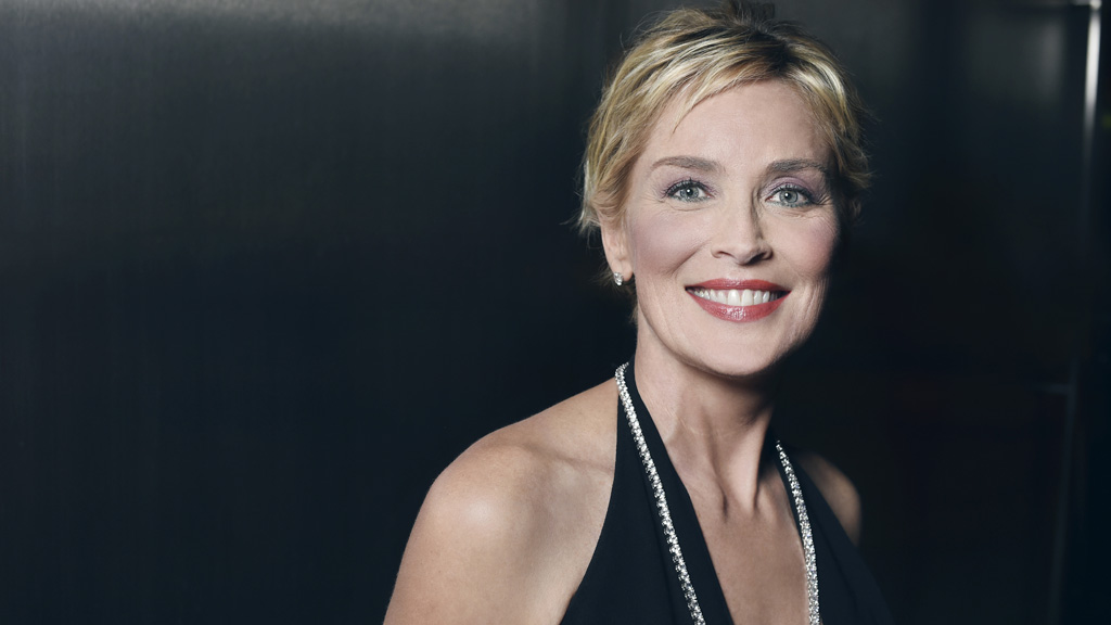 Staggeringly beautiful then and now. Yes, it's Sharon Stone. Image: Getty.