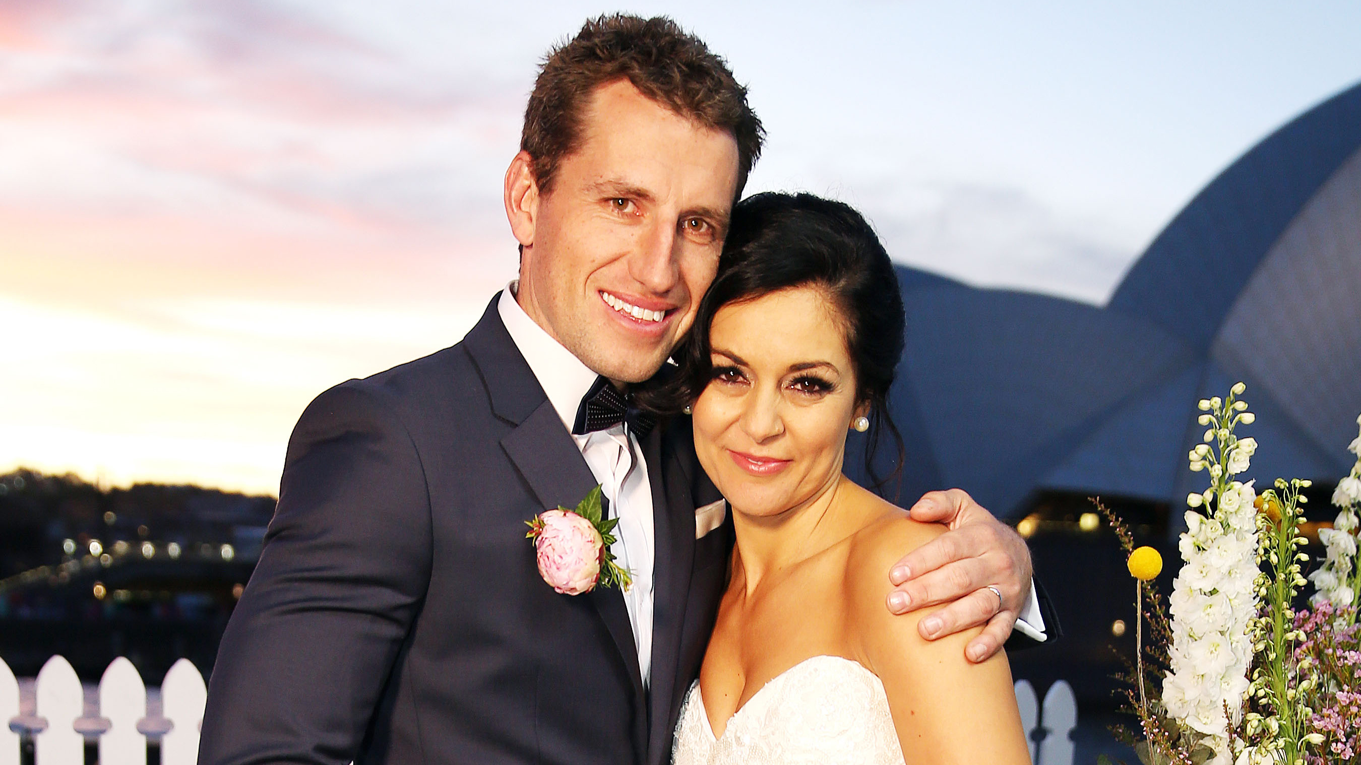 Christie and Mark begin to look #flawless in front of the Sydney Opera House.