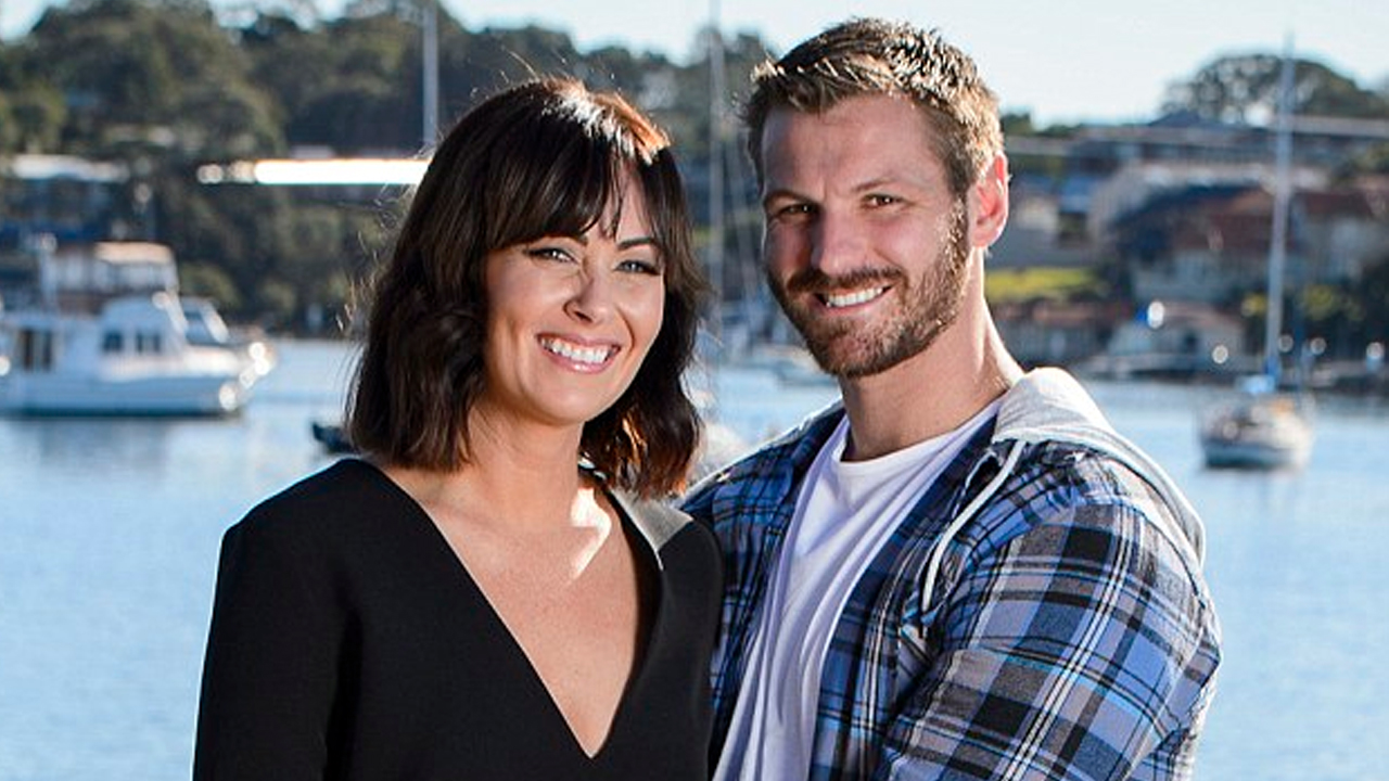 Michelle and her husband Rob. Photo credit: The Daily Mail Australia.