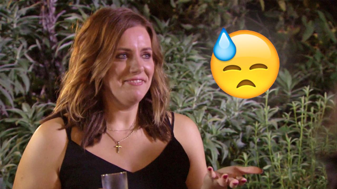 Jess: 'Yeah so I got dumped on my honeymoon.'
