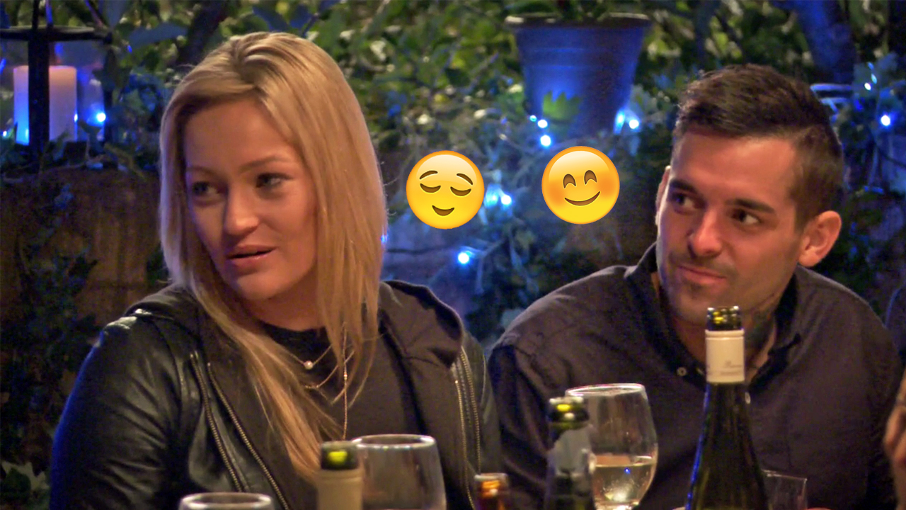 Nicole: 'Yeah Dave, it's not all sunshine and rainbows but you signed up for four weeks, so...' Keller: 'Sick him babe'