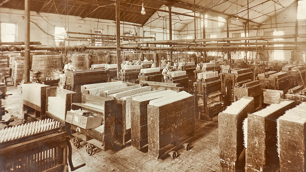 The history of The New Block, Port Melbourne as Kitchen's Electrine Candles headquarters