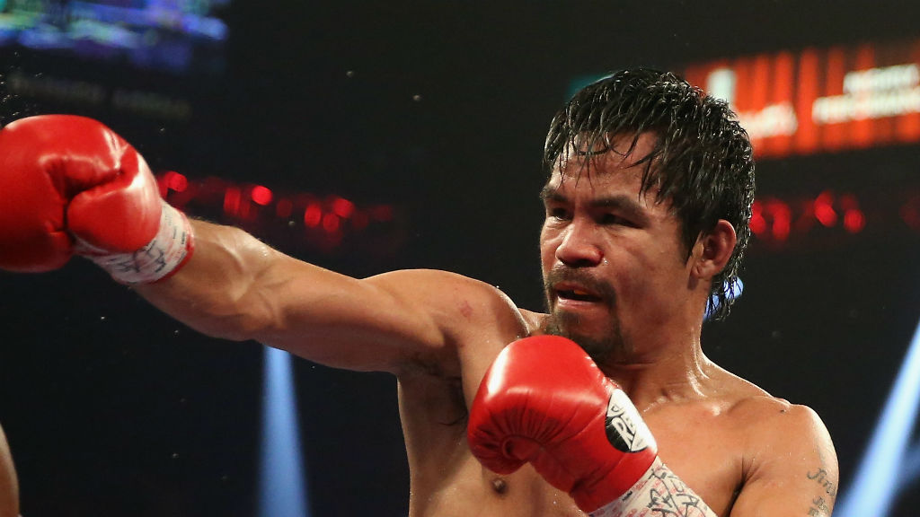 Manny Pacquiao. (Getty Images)