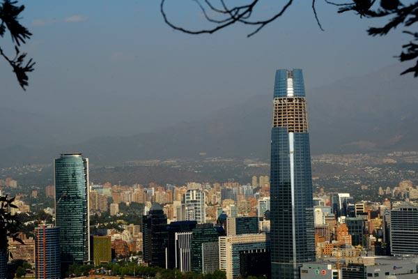 Chile's Gran Torre Costanera Center. (Getty)