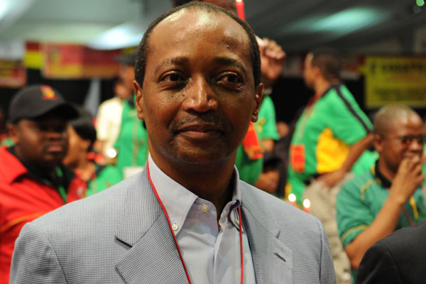 South African mining billionaire Patrice Motsepe. (Getty)