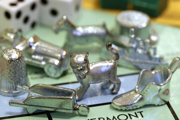 The cat will take its place along favourite Monopoly tokens, replacing the iron. (AAP)