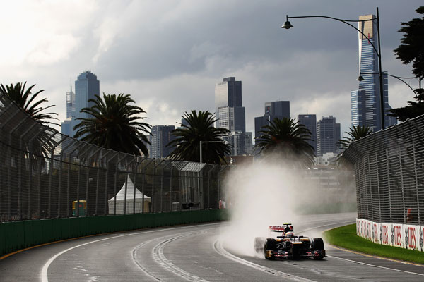 The Melbourne F1 grand prix.