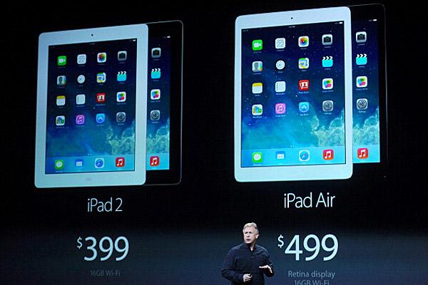 Aplpe iPad launch
