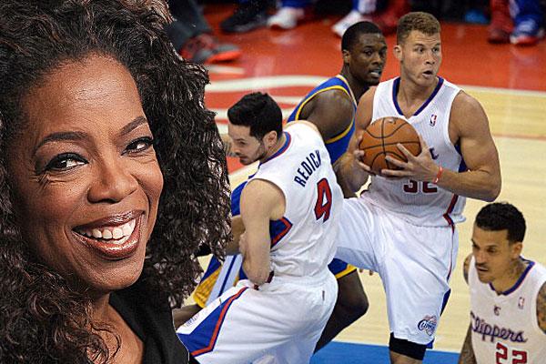 Oprah Winfrey, LA Clippers