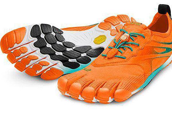 Vibram 'barefoot' running shoes