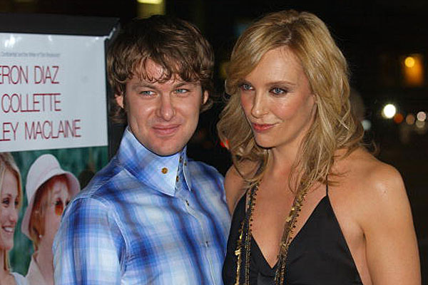 Toni Collette and husband
