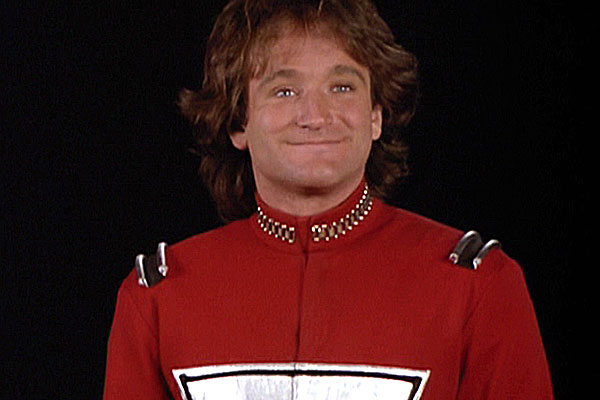Nanu nanu: Robin Williams as Mork.