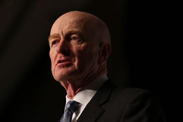 Reserve Bank of Australia CEO Glenn Stevens.