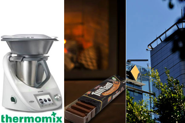 Among the winners were: Thermomix maker Vorwerk, Arnott's and Commonwealth Bank of Australia.
