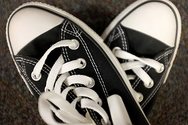 Converse's iconic Chuck Taylor shoe.