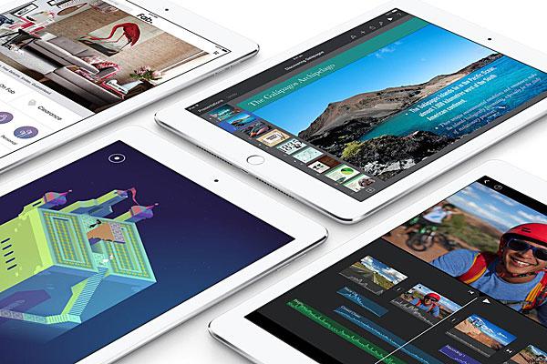 Apple's new iPad Air 2.