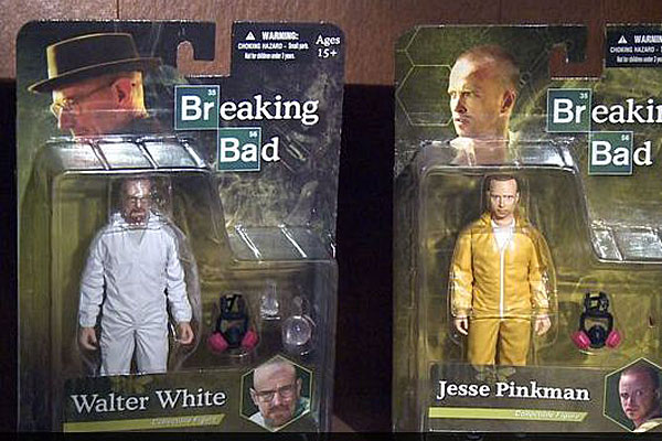 "Toys ""R"" Us Breaking Bad toys."