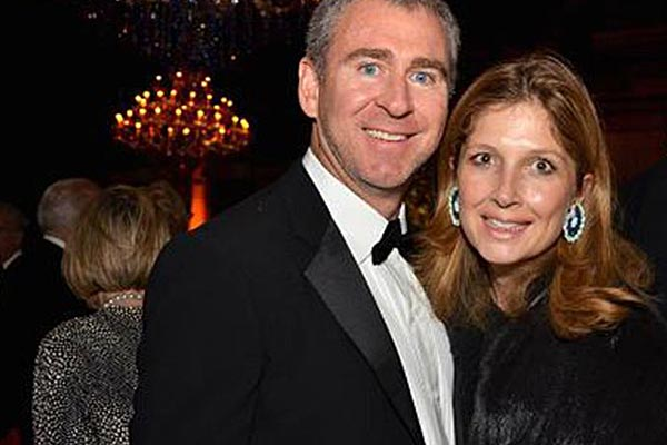 Ken Griffin and Anne Dias Griffin attended the Whitney Museum of American Art's fall gala in New York in 2011. (Getty)
