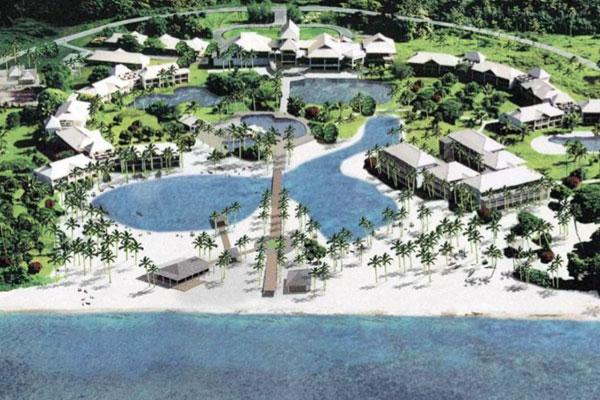 Plans for the run down resort (SlideShare)