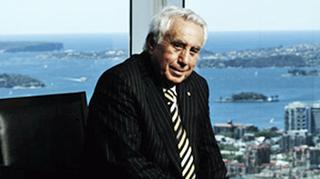Harry Triguboff (AAP)