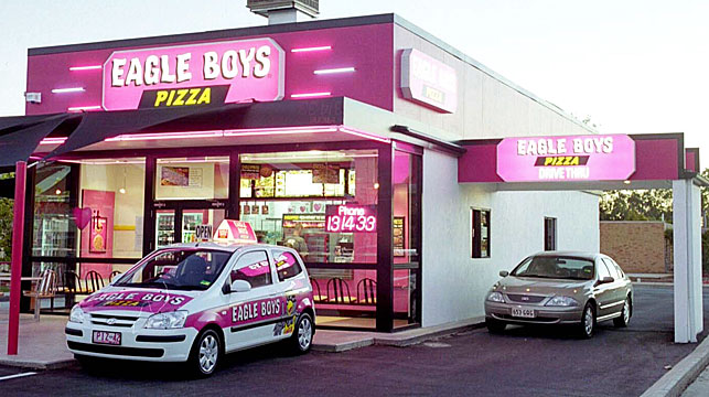 Eagle Boys pizza chain has been put into voluntary administration. (AAP)