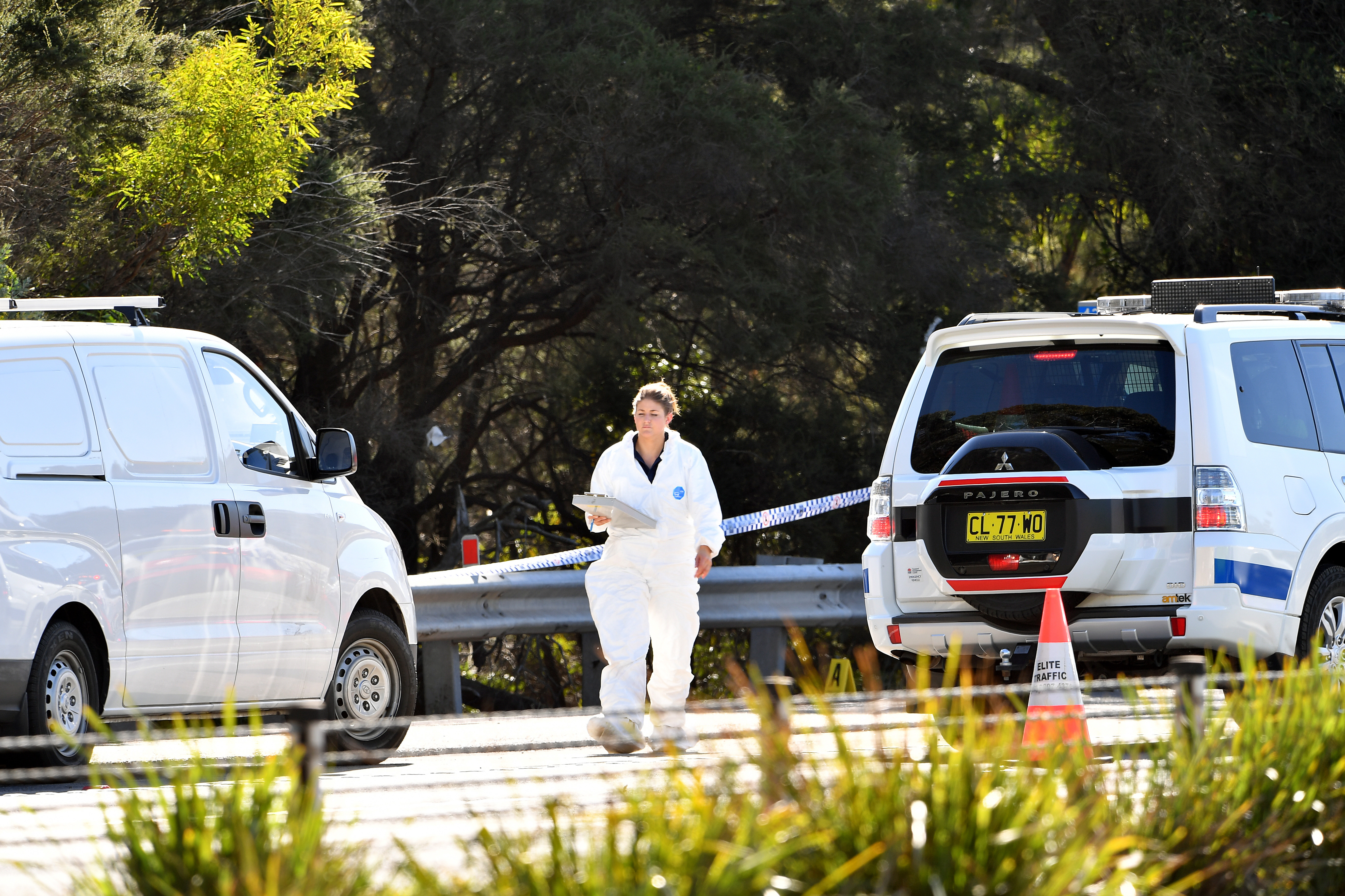 The body of Qi Yu has been found in bushland near a major highway north of Sydney. Picture: AAP
