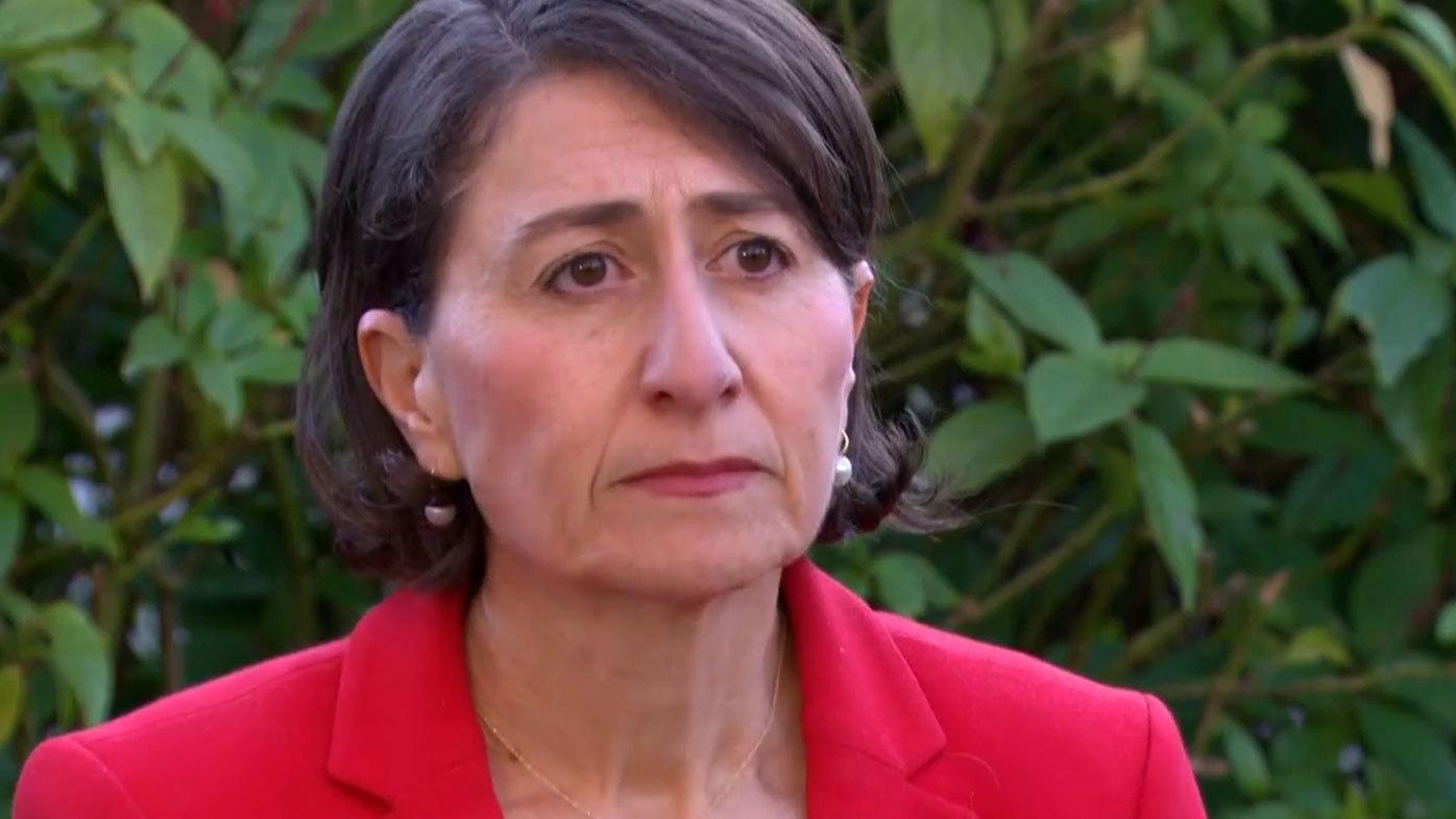 NSW Premier Gladys Berejiklian has expressed her shock at allegations against Gareth Ward.