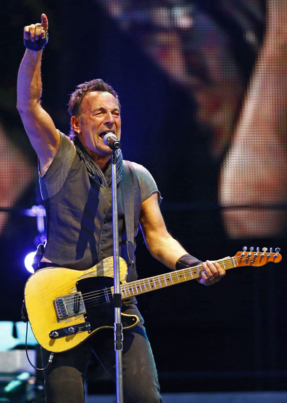 Bruce Springsteen and the E Street Band perform in Barcelona, Spain, on May 14, 2016