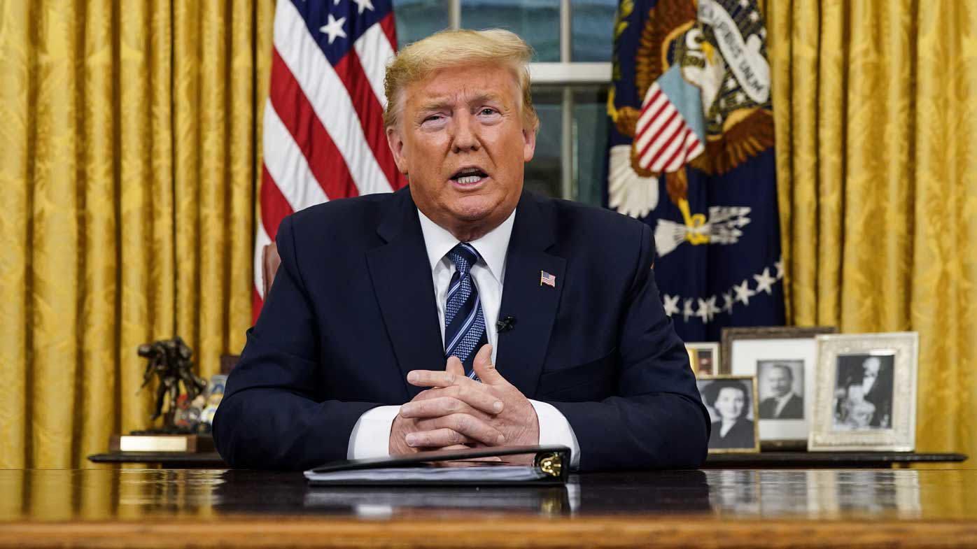 Donald Trump addressed the nation about coronavirus.