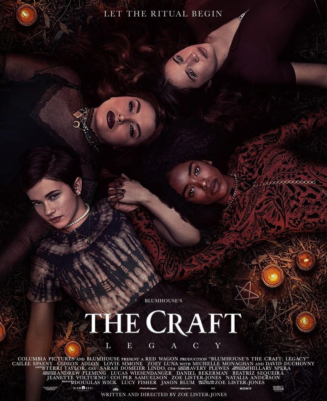 The Craft: Legacy, reboot, Cailee Spaeny, Gideon Adlon, Lovie Simone, Zoey Luna