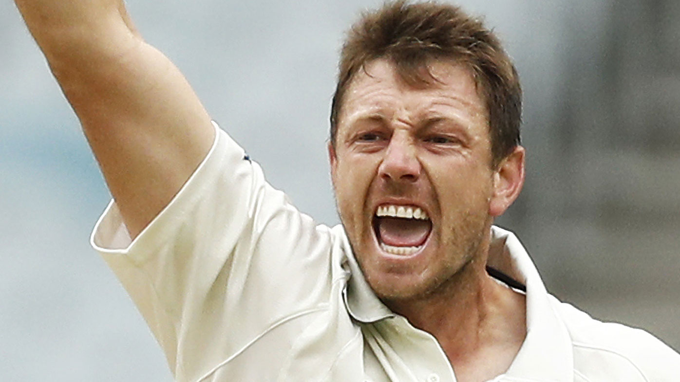 James Pattinson during the Victoria vs Queensland Sheffield Shield game