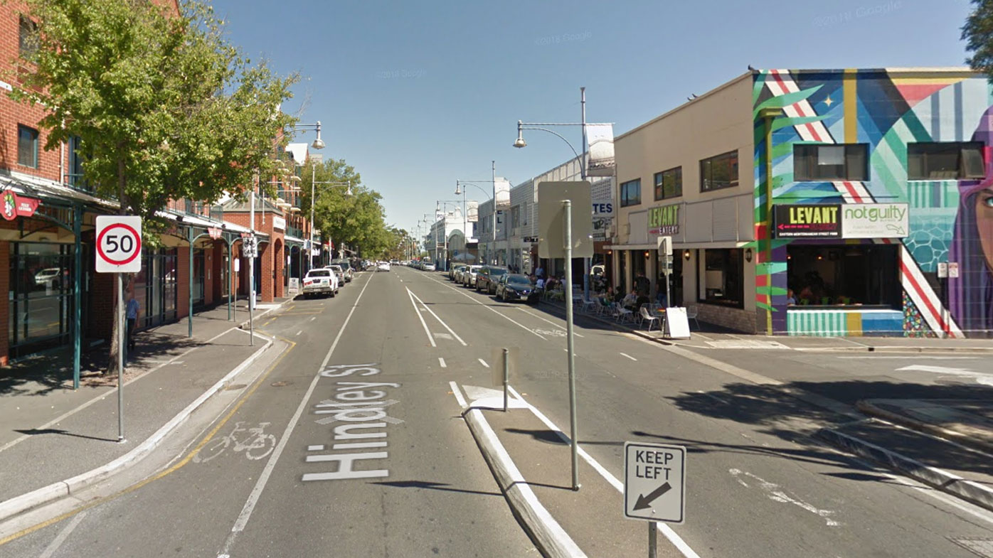 A man suffered critical injuries while on a night out on Hindley Street.
